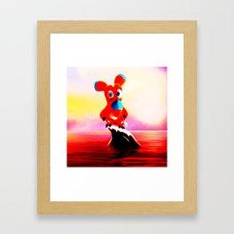 noah is gone Framed Art Print