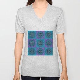 Squares10 Unisex V-Neck