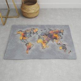 world map 111 #worldmap #world #map Rug