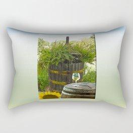 Sunday Sipping Rectangular Pillow