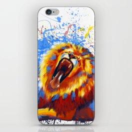 Lion Yawn iPhone Skin