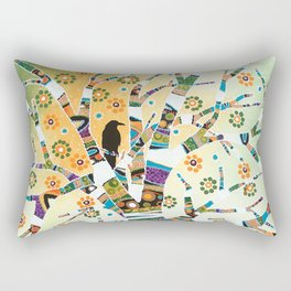 Raven Tree of Life Rectangular Pillow