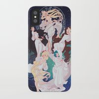 mucha iPhone & iPod Cases featuring Sailor Mucha by Dixie Leota