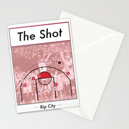 The Shot Series - Damian Lillard Stationery Cards