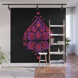 Spring Yoni Wall Mural