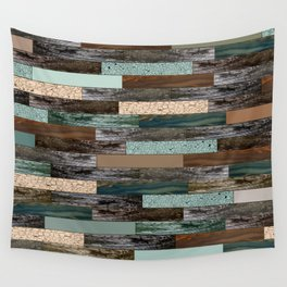 Wood in the Wall Wall Tapestry