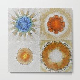 Lochometritis Being Flower  ID:16165-014048-97820 Metal Print