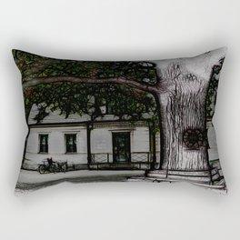 ye olde oak tree Rectangular Pillow