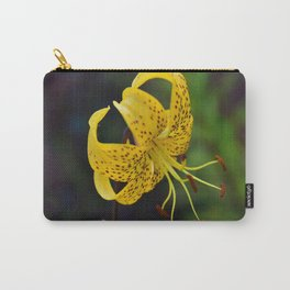 Tiger Lily Portrait Carry-All Pouch