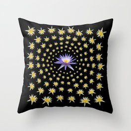 Dissolved in Beauty Two Throw Pillow