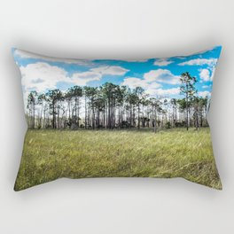 Cypress Trees and Blue Skies Rectangular Pillow