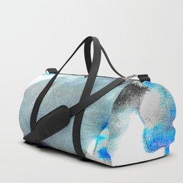 net abstract digital painting Duffle Bag