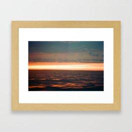 Lake Erie Framed Art Print
