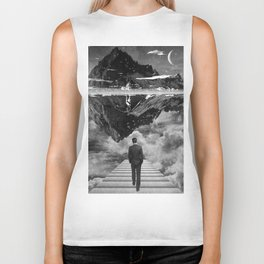 Black & White Collection -- Wandering Biker Tank