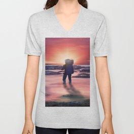 The Sunset Unisex V-Neck