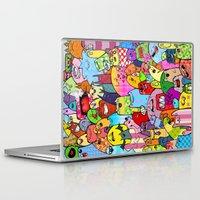 random Laptop & iPad Skins featuring Random by Raquel Amo Art