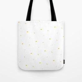 Lemon Pattern Tote Bag