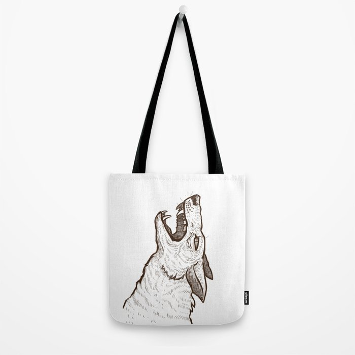 Open Mouth Tote Bag