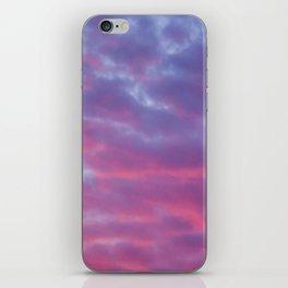 Cloudy Sunset iPhone Skin