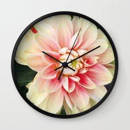 442 - Dahlia Wall Clock