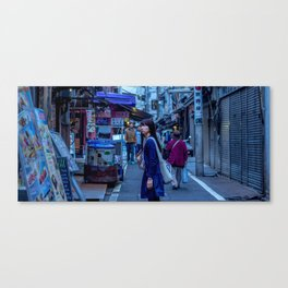 Lost in Tsukiji Canvas Print