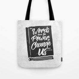 Words Have Power - Clockwork Princess Tote Bag