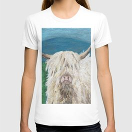 A Sweet Shaggy Highland Coo T-shirt