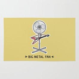 Big Metal Fan Rug