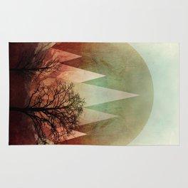 TREES under MAGIC MOUNTAINS I Rug