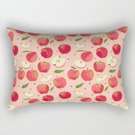 apple picking Rectangular Pillow