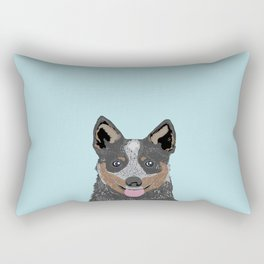 Kellan - Cattle Dog gifts for dog lovers and australian cattle dog gifts for dog person Rectangular Pillow