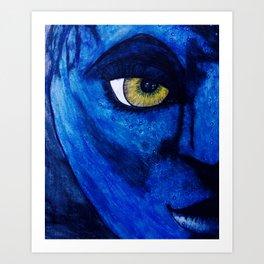 """I See You"" by Ancientz Artz Art Print"