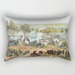 Battle Of Gettysburg -- American Civil War Rectangular Pillow