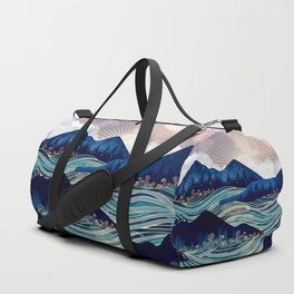 Ocean Sunrise Duffle Bag