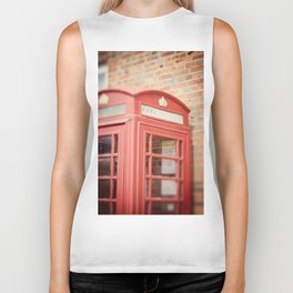 Telephone Box Biker Tank