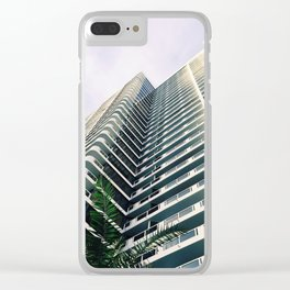 Miami Vice Clear iPhone Case