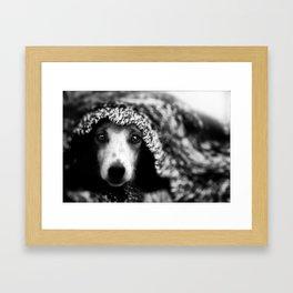 Show me love.. Framed Art Print