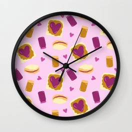 PBJ Love Wall Clock