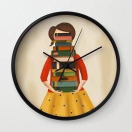Marlowe Visits the Library Wall Clock