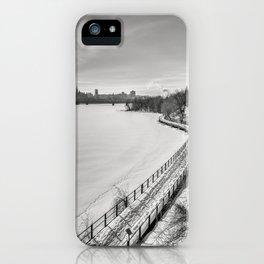 Along Ottawa river iPhone Case