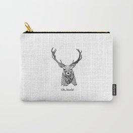 Oh, Buck! Carry-All Pouch