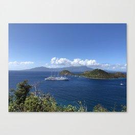 Iles des Saintes II Canvas Print