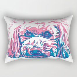Bichpoo Rectangular Pillow