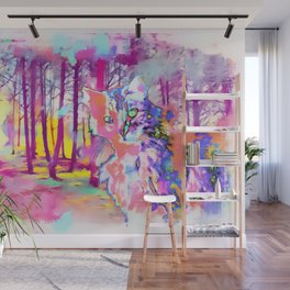 Let It All Go. See What Stays. Wall Mural