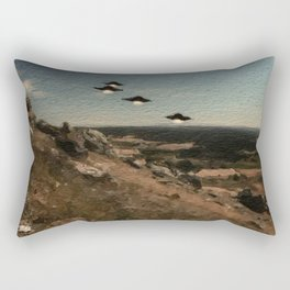 The First Wave - UFO Rectangular Pillow