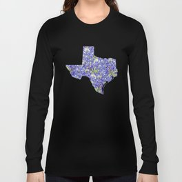 Texas in Flowers Long Sleeve T-shirt