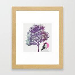 She Dreams Framed Art Print