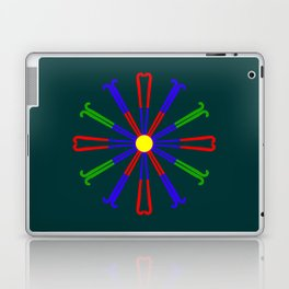 Field Hockey Stick Design Laptop & iPad Skin