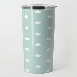 Paper boats Travel Mug