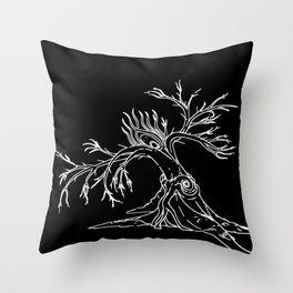 Consolation of Leaves Throw Pillow